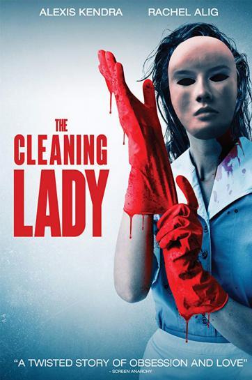 زن نظافتچی