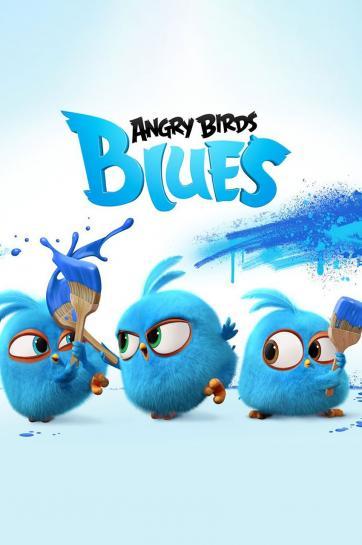 پرندگان خشمگین آبی
