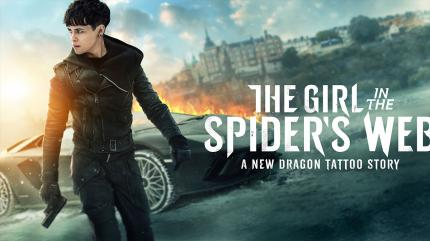 تریلر فیلم دختری در تار عنکبوت