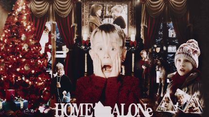تنها در خانه
